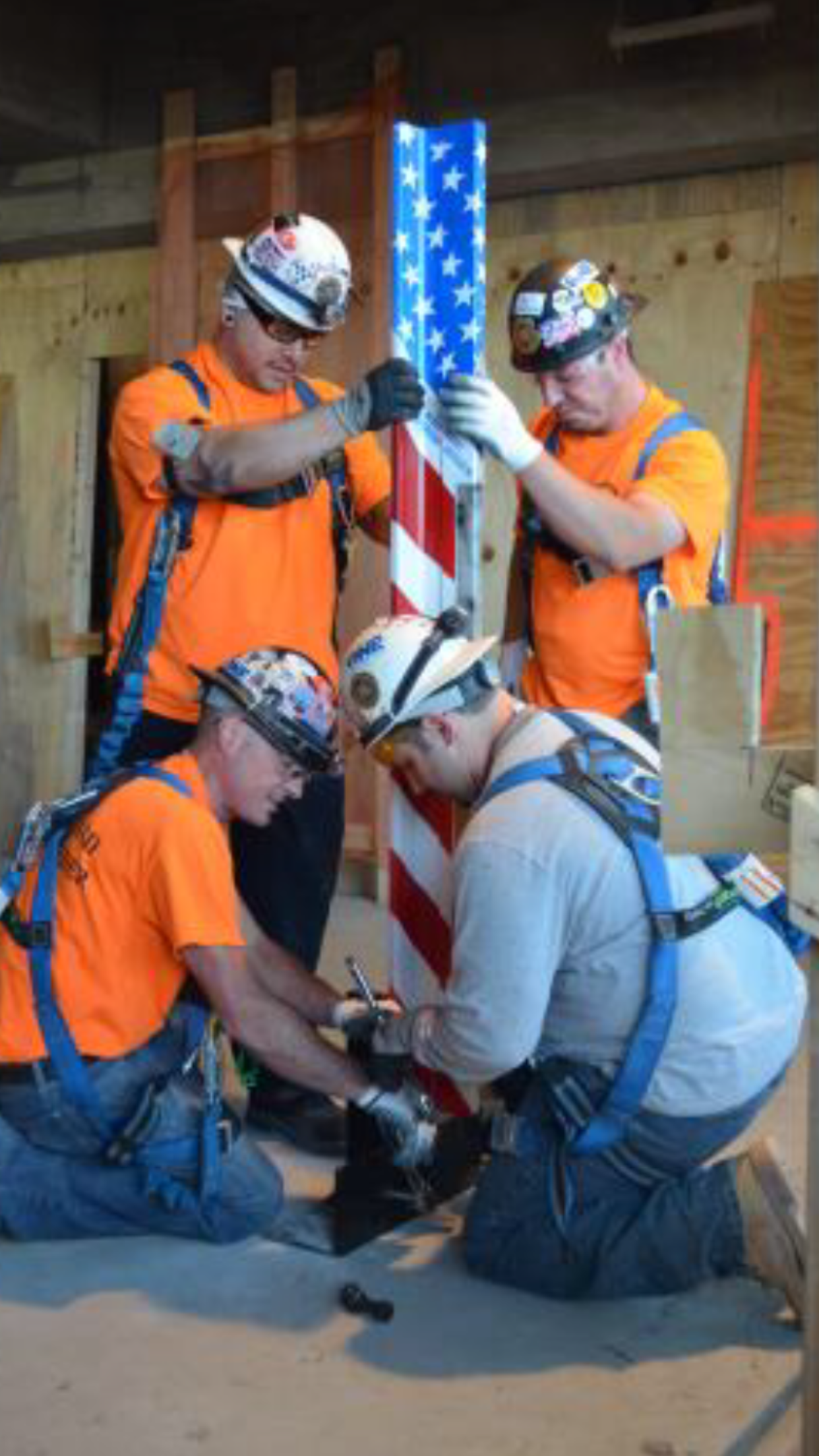 Local 1 Elevator Constructors Topping At the Freedom Tower – Union ...